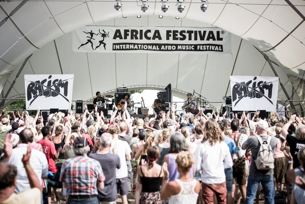 Download International Africa Festival Bühne © Günther Klebinger Bild